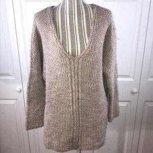 [Anthro] Moth Oversized VNeck Sweater